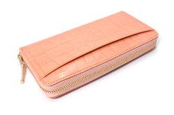 COCCO(コッコ) ラウンドファスナー長財布 「ル・プレリーギンザ 」 NPL9114 オレンジ 裏面
