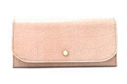 COCCO(コッコ) 薄型長財布 「ル・プレリーギンザ 」 NPL9212 ベージュ 正面