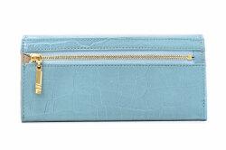 COCCO(コッコ) 薄型長財布 「ル・プレリーギンザ 」 NPL9212 ブルー 裏面