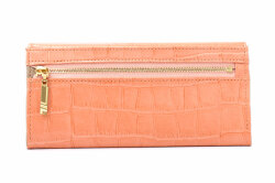 COCCO(コッコ) 薄型長財布 「ル・プレリーギンザ 」 NPL9212 オレンジ 裏面