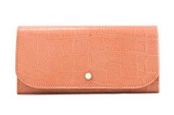 COCCO(コッコ) 薄型長財布 「ル・プレリーギンザ 」 NPL9212 オレンジ 正面