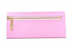 COCCO(コッコ) 薄型長財布 「ル・プレリーギンザ 」 NPL9212 ピンク 裏面