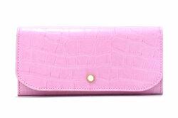 COCCO(コッコ) 薄型長財布 「ル・プレリーギンザ 」 NPL9212 ピンク 正面