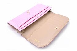 COCCO(コッコ) 薄型長財布 「ル・プレリーギンザ 」 NPL9212 ピンク 内作り
