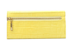 COCCO(コッコ) 薄型長財布 「ル・プレリーギンザ 」 NPL9212 イエロー 裏面