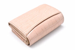 COCCO(コッコ) 二つ折り財布(小銭入れあり) 「ル・プレリーギンザ 」 NPL9313 ベージュ 裏面