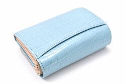 COCCO(コッコ) 二つ折り財布(小銭入れあり) 「ル・プレリーギンザ 」 NPL9313 ブルー 裏面