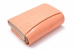 COCCO(コッコ) 二つ折り財布(小銭入れあり) 「ル・プレリーギンザ 」 NPL9313 オレンジ 裏面