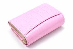 COCCO(コッコ) 二つ折り財布(小銭入れあり) 「ル・プレリーギンザ 」 NPL9313 ピンク 裏面