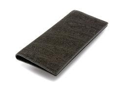 GINZAエレファント 長財布(小銭入れなし) 「プレリーギンザ」 NPM1136 クロ 裏面