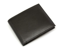 Kip Classic(キップクラシック) 二つ折り財布(小銭入れなし) 「プレリーギンザ」 NPM2222 ブラック 正面