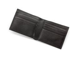 Kip Classic(キップクラシック) 二つ折り財布(小銭入れなし) 「プレリーギンザ」 NPM2222 ブラック 内作り2