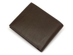 Kip Classic(キップクラシック) 二つ折り財布(小銭入れなし) 「プレリーギンザ」 NPM2222 ダークブラウン 裏面