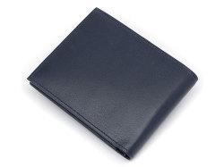 Kip Classic(キップクラシック) 二つ折り財布(小銭入れなし) 「プレリーギンザ」 NPM2222 ネイビー 裏面
