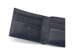 Kip Classic(キップクラシック) 二つ折り財布(小銭入れなし) 「プレリーギンザ」 NPM2222 ネイビー 特徴