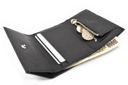 Glove high soft leather(グローブハイソフトレザー) 三つ折り財布(小銭入れあり) 「プレリーギンザ」 NPM4213 イメージ画像