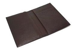 Glove high soft leather(グローブハイソフトレザー) 薄型名刺入れ「プレリーギンザ」 NPM4385 チョコ 内作り