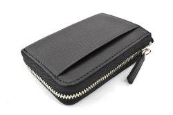 Glove high soft leather(グローブハイソフトレザー) 小銭入れ 「プレリーギンザ」 NPM4412 クロ 正面