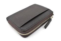 Glove high soft leather(グローブハイソフトレザー) 小銭入れ 「プレリーギンザ」 NPM4412 チョコ 正面2