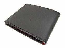Victoria(ヴィクトリア) 二つ折り財布(小銭入れなし) 「プレリーギンザ」 NPT5212 ブラック 裏面