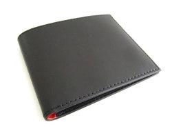 Victoria(ヴィクトリア) 二つ折り財布(小銭入れなし) 「プレリーギンザ」 NPT5212 ブラック 正面
