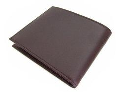 Victoria(ヴィクトリア) 二つ折り財布(小銭入れなし) 「プレリーギンザ」 NPT5212 ダークブラウン 裏面