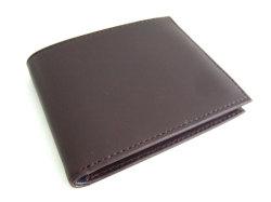 Victoria(ヴィクトリア) 二つ折り財布(小銭入れなし) 「プレリーギンザ」 NPT5212 ダークブラウン 正面