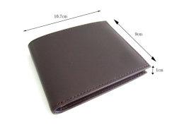 Victoria(ヴィクトリア) 二つ折り財布(小銭入れなし) 「プレリーギンザ」 NPT5212 サイズ