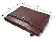 オックスフォード ショルダーバッグ 「ゴールドファイル」 901106 サイズ