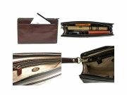 オックスフォード クラッチバッグ セカンドバッグ 「ゴールドファイル」 901201 イメージ 4コマ