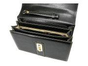 オックスフォード クラッチバッグ セカンドバッグ 「ゴールドファイル」 901205 ブラック 内作り