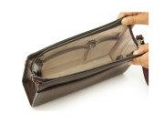 オックスフォード クラッチバッグ セカンドバッグ 「ゴールドファイル」 901206 バーガンディ 内作り