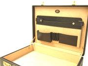 オックスフォード アタッシュケース 「ゴールドファイル」 901509 ブラック 内装