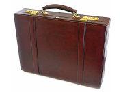 オックスフォード アタッシュケース 「ゴールドファイル」 901509 バーガンディ 正面