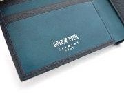 Superior(スペリオール) 二つ折り財布(小銭入れなし)  「ゴールドファイル」 GP24315 特徴