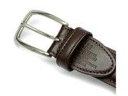SOLID BRASS(ソリッドブラス) 「プレリーギンザ」 30mm幅 ベルト NB23110 チョコ 特徴