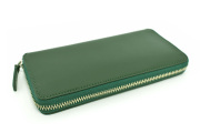 CORDOVAN1957(コードバン1957)ラウンドファスナー長財布 「プレリー1957」 NP12030 グリーン 裏面