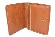 FAV(ファボ) 二つ折り財布(BOX小銭入れあり) 「ル・プレリーギンザ 」 NP20311 キャメル 内作り