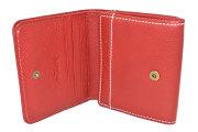 FAV(ファボ) 二つ折り財布(BOX小銭入れあり) 「ル・プレリーギンザ 」 NP20311 アカ 内作り