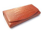 COCCO(コッコ) 長財布(小銭入れあり) 「ル・プレリー」 NP25911 オレンジ 正面