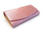 COCCO(コッコ) 長財布(小銭入れあり) 「ル・プレリー」 NP25911 ピンク 正面