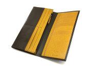 Fusion(フュージョン) 長財布 「プレリーギンザ」 NP58127 ダークブラウン 内作り