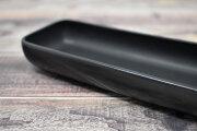 Artigiano(アルチジャーノ) 牛革トレー長方形  「プレリーギンザ」 NP72113 ブラック 正面