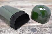 Artigiano(アルチジャーノ) 牛革眼鏡ケース  「プレリーギンザ」 NP72219 グリーン 内作り