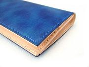 Patine(パティーヌ) 長財布(小銭入れあり) 「プレリーギンザ」 NP76023 ブルー 側面