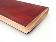 Patine(パティーヌ) 長財布(小銭入れあり) 「プレリーギンザ」 NP76023 ワイン 側面
