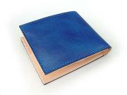 Patine(パティーヌ) 二つ折り財布(小銭入れあり) 「プレリーギンザ」 NP76220 ブルー 裏面