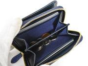 Patine2(パティーヌ2) ラウンドファスナー二つ折り財布 「プレリーギンザ」 NP78220 内作り