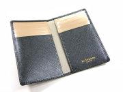 Bijue(ビジュー) カードケース 「ル・プレリー 」 NPL1755 クロ 内作り
