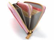 Fascino(ファッシノ) ラウンドファスナー長財布「ル・プレリー」  NPL3114 側面